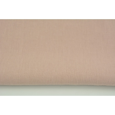100% plain linen in dirty pink color, softened 155g/m2 I