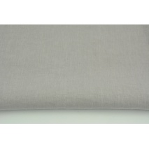100% plain linen in light gray color, softened 155g/m2 I