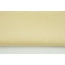 Cotton 100% plain beige 145g/m2