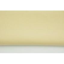 Cotton 100% plain beige 145g/m2