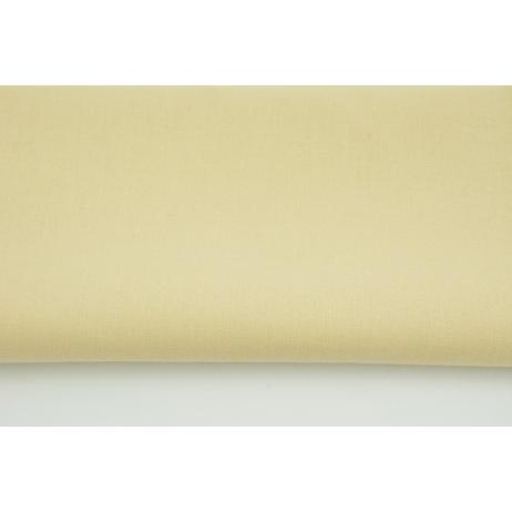 Bawełna 100% beżowa jednobarwna 145g/m2