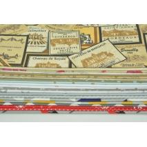 Fabric bundles No. 311 OA 30x140cm