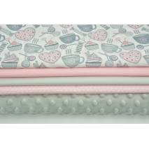 Fabric bundles No. 555 KO 70x160cm