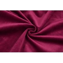 Velvet gładki burgund 220 g/m2