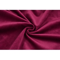 Velvet smooth burgundy 220 g/m2