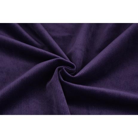 Velvet gładki śliwkowy 220 g/m2