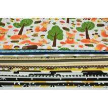 Fabric bundles No. 306 OA 30x140cm