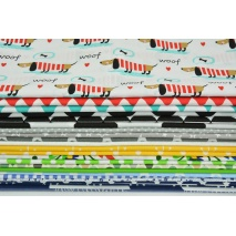 Fabric bundles No. 255 AO 40x140cm