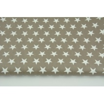 Cotton laminated stars on a dark beige background