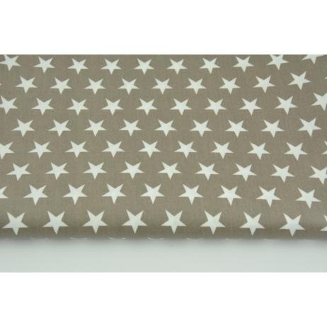 Cotton laminated stars on a dark beige background