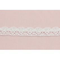 Cotton lace 20mm, white