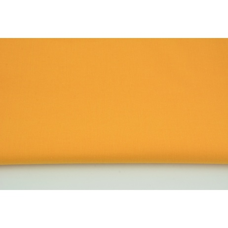 Cotton 100% plain carrot orange