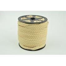 Wypustka bawełniana beżowa w kropki