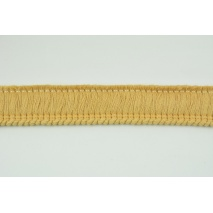 Ribbon with fringes mustard 3cm