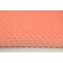 Polar z wytłaczanymi bąbelkami minky papaja 380g/m2