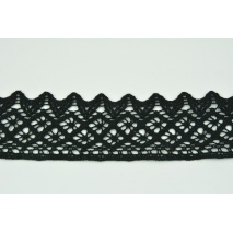 Cotton lace 50mm, black