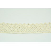 Cotton lace 50mm, natural