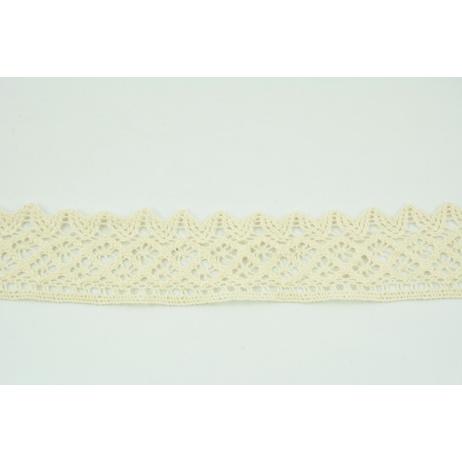 Cotton lace 50mm, natural