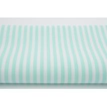 Cotton 100% 5mm mint stripes II quality