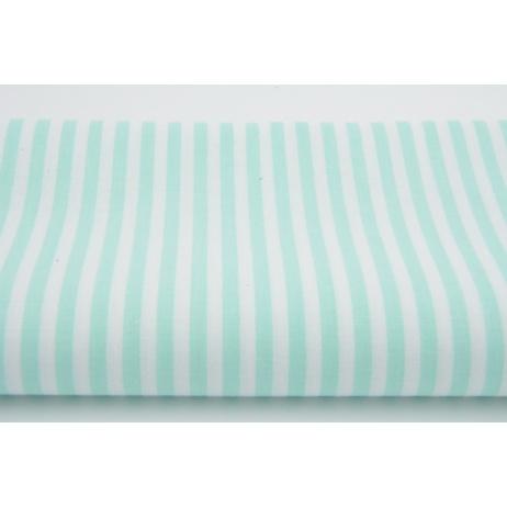 Cotton 100% 3mm mint stripes