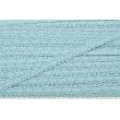 Cotton lace 12mm blue