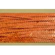 Taśma cekinowa ruda 6mm