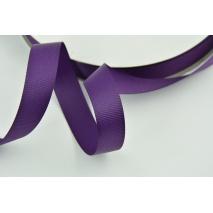 Tasiemka rypsowa 19mm ciemny fiolet