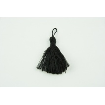 Small fringe with loop black