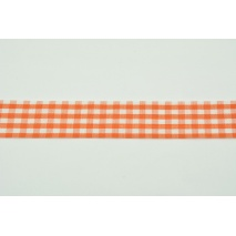 Ribbon orange check 26mm