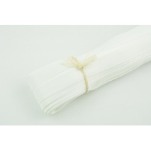 Trousers tape white 14mm