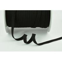 Rubber-lace 11mm black