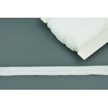 Curtain tape 25mm wrinkled white