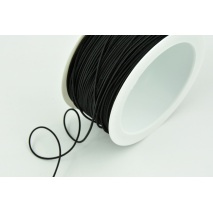 Round rubber 1,2mm black