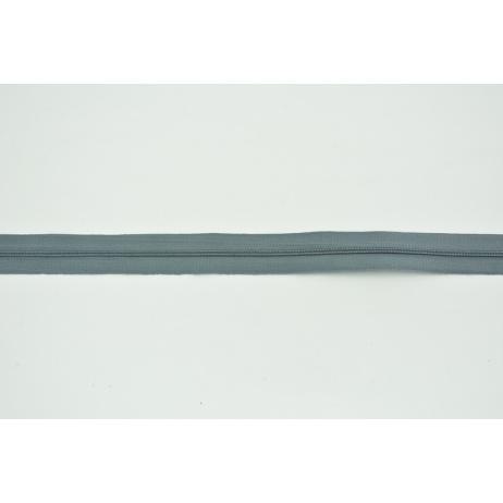 Zipper tape 3mm dark gray