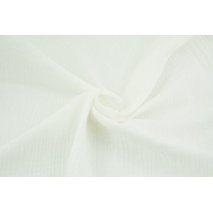 Double gauze 100% cotton plain ecru