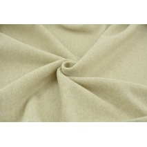 Jersey with lurex, beige