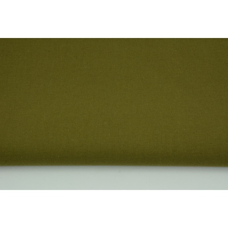 Cotton 100% plain khaki
