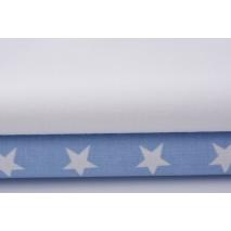 Bawełna 100% biała 155g/m2 jednobarwna