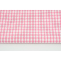 Cotton 100% double-sided pink vichy check 0,5 cm