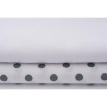 Bawełna pościelowa 100% biała 145g/m2 miękka