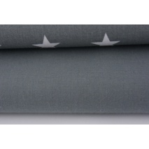 Cotton 100% plain dark gray 145g/m2
