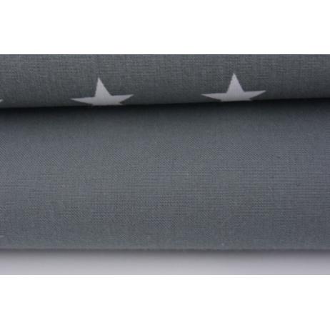 Cotton 100% plain dark gray 145g/m2