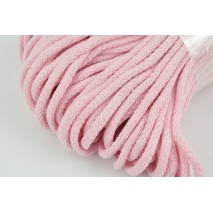 Cotton Cord 6mm light pink (soft)