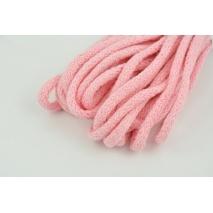 Sznurek bawełniany 6mm różowy (miękki)