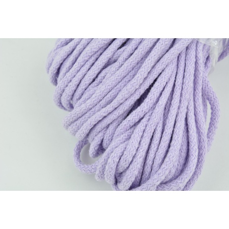 Cotton Cord 6mm lavender (soft)
