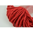 Cotton Cord 6mm red (soft)
