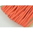 Cotton Cord 6mm dark orange (soft)