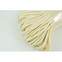 Cotton Cord 6mm cream (soft)