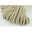 Cotton Cord 6mm beige (soft)