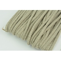 Cotton Cord 6mm chilly beige (soft)
